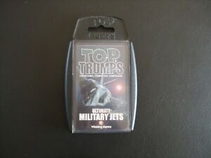 Ultimate Military Jets Winning Moves Top Trumps Cards