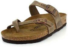 Birkenstock Mayari Womens Tobacco Leather with EVA Sole Fashion Sandals US 8-8.5