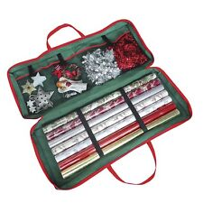 Christmas Gift Wrap Fabric Storage Bag 82 x 34 x 13 cm . For Paper, Tags & Bows