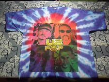 XL- Vintage Single Stitch U2 Pop Mart 1997 NOS Rare Tie Die T- Shirt