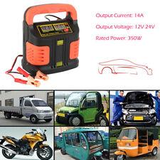 Auto KFZ PKW Batterieladegerät Intelligente Akku Ladegerät Batterielader 12V/24V