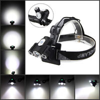 2 IN 1 10000LM 3x T6 LED Adjustable Front Head Bicycle light Bike Lamp Headlight