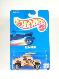 Hot Wheels Blue Card Tail Gunner Hot Wheels Hummer #188 Blue Card NEW NOC