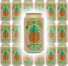 Diet Jupina Pineapple Soda, 12oz Can (Pack of 18, Total of 216 Oz)