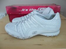 WOMENS SKECHERS BIKER IN CROWD TRAINERS  SIZE UK 5 UNWORN WITH BOX