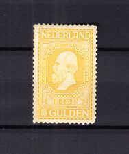 Nederland 100 postfris met de originele gom, een licht verticaal kreukje, lees