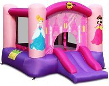 Scivolo Gonfiabile Principessa BASKET CERCHIO Bouncer castello gonfiabile Air Blower Kids