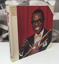 SATCHMO ... A MUSICAL AUTOBIOGRAPHY OF LOUIS ARMSTRONG BOX 4 LP + ALL INSERTS