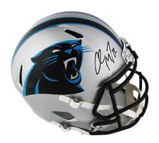 Christian McCaffrey Signed Carolina Panthers Speed Full Size NFL Helmet
