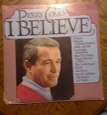 Vintage Perry Como I Believe Vinyl LP