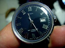 RARE VINTAGE TIMEX SELF WIND AUTOMATIC MEN WATCH 46551-3273 CALENDER