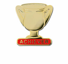 Achiever Trophy School Award Gold Badge
