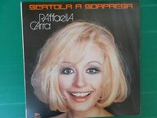 LP RAFFAELLA CARRA' SCATOLA A SORPRESA 1973 COME NUOVO