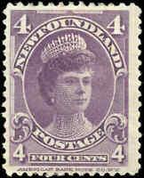 1901 Canada Mint H Newfoundland 4c F+ Scott #84  Stamp