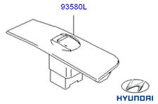 Genuine Hyundai Matrix Passenger Window Switch - 9358017500YN