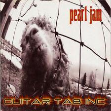 Pearl Jam Digital Guitar Tab Vs. Lessons on Disc Stone Gossard Mike McCready