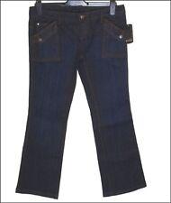 """Bnwt Women's Oakley Rapture Stretch Jeans Industrial Denim W31"""" L32"""" New Blue"""