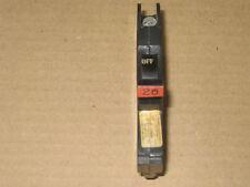 Federal Pacific 110 Volt/20 Amp Mini 1/2 Circuit Breaker