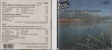 2 CD GEORG PHILIPP TELEMANN MUSIQUE DE TABLE VOLUME 1 ET 2 1990