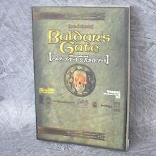 BALDUR'S GATE Official Game Guide Japan Book PC RARE KB315x