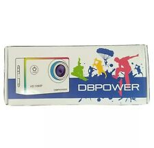 DBPOWER 1080P Waterproof Action Camera 12MP HD Camcorder DB0753