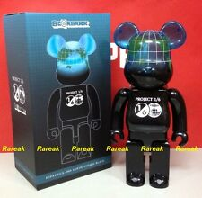 Medicom Be@rbrick 2015 Project 1/6 Earth 400% Cosmic Black Bearbrick 1pc
