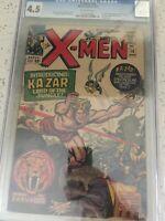 x-men 10 Cgc 4.5 First Ka-Zar