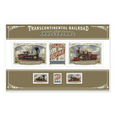 USPS New Transcontinental Railroad Stamps Print