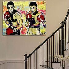 "Alec Monopoly Amazing HD print on Canvas Urban art decor Boxers Ali Tyson 12x16"""