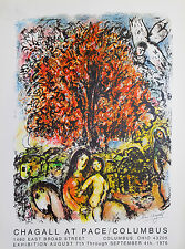 Marc Chagall - Saint Famille -  signiert