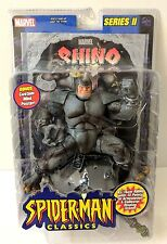 "SPIDER-MAN CLASSIC RHINO 7"" ACTION FIGURE SERIES 2+MARVEL COMIC BOOK TOYBIZ 2001"
