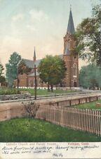 PUTNAM CT - Catholic Church and Parish House - udb (pre 1908)
