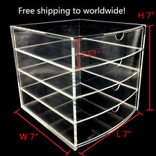New Design Multifunction Large Acrylic case Multipurpose 4 drawer Organizer Box
