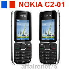 Téléphone Portable Nokia C2-01 GSM/WCDMA 3G  NEUF NOIR