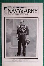 1900 BOER WAR ERA DUKE OF EDINBURGH ADMIRAL OF THE FLEET BRITISH NAVY