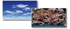 x2 wave Double Background Dream for aquarium, 45cm x 15m-30m total RRP £70+