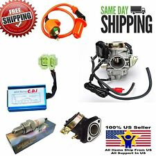 ETON YUKON 150cc GY6 CARBURETOR MANIFOLD PERFORMANCE CDI & IGNITION COIL ATV