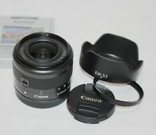NEW Canon EF-M 15-45mm f/3.5-6.3 IS STM Lens For EOS-M fit