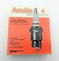 Spark Plug Box of 4 Standard Copper Core Autolite Auto Lite 2543