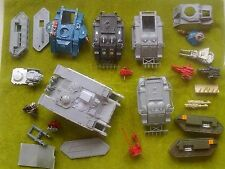 Warhammer 40k  space marine tanks land raider rhino rogue trader etc