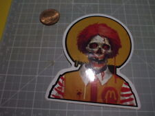 ZOMBIE FAST FOOD GLOSSY FINISH Sticker/ Decal LAPTOP Stickers