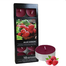 Gala Quality Wild Raspberry Scented Tea Lights - pack of 10