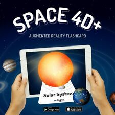 Space 4D Cards SPECIAL EDITION, Augmented Reality Flashcards