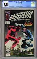Daredevil #257 - CGC 9.8 WP - Classic Punisher Cover!