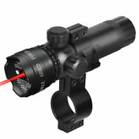 Rifle Sope Green/Red Dot Laser Sight/Offest Mounts&Remote Switch black