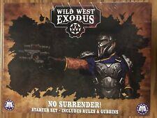Wild West Exodus: No Surrender! Starter Set