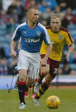 RANGERS HAND SIGNED KENNY MILLER 12X8 PHOTO PROOF.