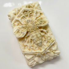 Handmade MILK and HONEY Soap with Bee Pollen, Clary Sage, Goats Milk, Raw Honey