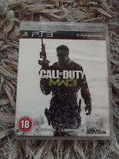 PS3 GAME - Call of Duty 3 -- COD MW3 Complete