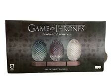 """Dragon Egg Bookends 7"""" Set Of Three Game Of Thrones Dark Horse"""